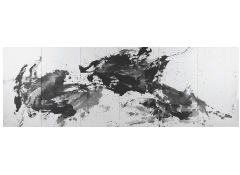 HUANG RUI - Black and White Chinese Landscape Painting